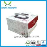 Rectángulo de papel de la alta impresión de encargo de la cantidad que empaqueta al por mayor