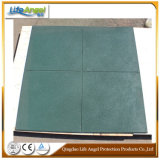 Fabrik-Preis 1m X1m, Gymnastik-Fußboden Crossfit Gummi-Matte