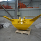 掘削機のTrapzoidalのバケツの掘削機の接続機構