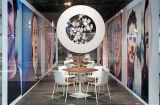 Офиса таблицы стали Uispair мебель трактира сада спальни столовой самомоднейшего 100% круглого домашняя живущий
