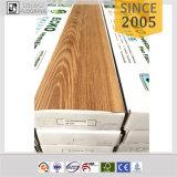 Prix d'usine Wood Look Recyclé Plastic Peel and Stick Flooring Tile