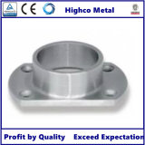 Flangia bassa oblunga per il corrimano e la balaustra dell'inferriata dell'acciaio inossidabile