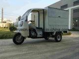 前部小屋との配達のためのボックス三輪車