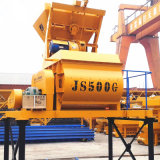 mezclador concreto eléctrico obligatorio del eje gemelo 500L (Js500)