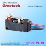 Micro interruptor impermeável para dispositivos electrónicos