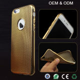 Тонкие высокого качества OEM самые новые ультра гальванизируют iPhone 6/6s аргументы за сотового телефона TPU плюс