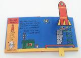 La impresión de papel surge el libro con el Hardcover
