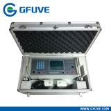 Teste portátil do medidor da energia da fase monofásica ajustado com fonte de energia