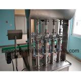 Volledig Automatische het Vullen Machine 4 Pijp voor de Vloeistof van de Viscositeit