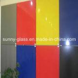 Glace peinte colorée et durable avec le certificat de Ce&ISO