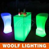 더 많은 것 300 디자인 LED 바 카운터 가구 KTV 호텔 클럽 바 플라스틱 가구
