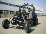 200cc CVT Automatic Transmission Go-kart met Sport Style
