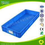 青いEU StandaredのNestableプラスチックの箱