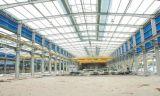 Construcción del diseño que construye la vertiente del hospicio del acero estructural