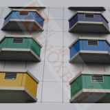 Slectable Custom Color Aluminum Composite Sandwich Panels pour Wall Cladding