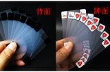 Transparente PVC/Plastic Spielkarten mit transparentem Kasten