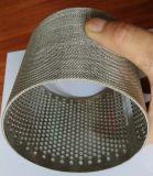 De Cilinder van Screenfilter van het Netwerk van de draad, Chemische Filter