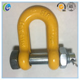 U. S Type Drop Forged Bolt Type G2150 Dee Shackle