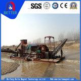 Tipo bagnato/asciutto separatore magnetico permanente di alto potere di Baite per sabbia di mare/fiume