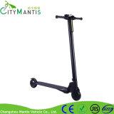 Fibre de carbone de Lightweigt de 5 roues de pouce 24V250W deux pliant le scooter électrique
