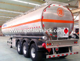 Adrの証明書5454のアルミ合金の燃料タンクのトレーラー