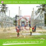 Projet de Papouasie-Nouvelle-Guinée Steel Prefab House