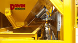 25m3 / Hour Truck Mobile Móvil mini planta de mezcla de hormigón de dosificación