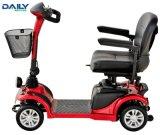 Mini vespa eléctrica de la movilidad de 4 ruedas con el motor 250W y el neumático sólido de 9 pulgadas