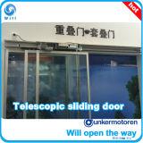 Porta deslizante telescópica de Tsa