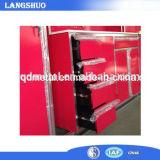 Nueva cabina de herramienta resistente del almacenaje de Paching del metal del rodillo