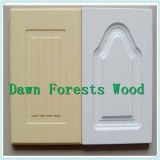 PVC Film MDF Core Kitchen Cabinet Door