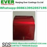 Topcoat красного цвета Decrative покрытие порошка брызга прозрачного ясного электростатическое