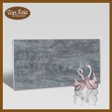 Telha vitrificada lustrada da laje de Floor&Wall da porcelana da cor do cimento série Super-Fina