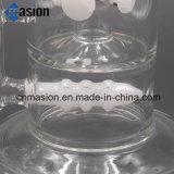 Conduite d'eau de fumage de TAPE en verre de pipe de jade (LY004)
