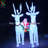 عيد ميلاد المسيح زخرفة [لد] خفيفة [سنتا] كلاوس [سلي]