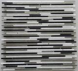 Lineare Mosaik-Fliese der Wand-Mosaic/Crystal Mosaic/Glass Mosaic/Strip (HGM422)