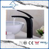 Faucet de bronze da bacia do banheiro elevado do corpo (AF2261-6H)