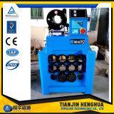 Hochleistungsfinn-Energien-Schlauch-quetschverbindenmaschine mit schnellen Änderungs-Hilfsmitteln