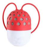 옥외 운동 실리콘 방수 RGB LED 무선 Bluetooth 스피커