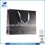 Noir de sac de papier des grands et raisonnables prix de volume