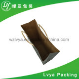 Form-Braunes Packpapier, das Beutel bekanntmacht