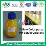 Желтый Colorant PU для тюфяка пены полиуретана