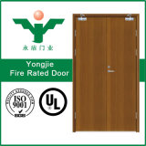 Двери деревянного пожара Composited Rated с американским стандартом UL аттестовали