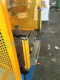 Prensa hidráulica que ensancha del equipo del funcionamiento de metal de hoja para el extremo del plato y el encadenamiento de la pista