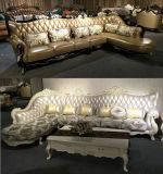 Sofa royal de cuir de type pour les meubles d'hôtel et les meubles à la maison (156)