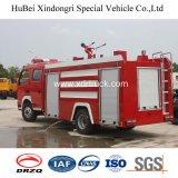 De Vrachtwagen van de Brandbestrijding van Dongfeng 4ton Met Blootgestelde Tank