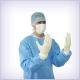 Мантии оптового дешевого устранимого стационара водоустойчивые стерильные хирургические с мантиями хлопка медицинскими