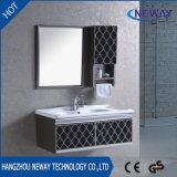 Mobília clássica do gabinete de banheiro bacia nova do projeto da única