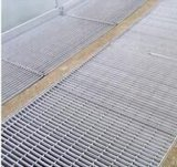 Cubierta de rejilla de acero revestida galvanizada de drenaje civil
