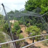 飼鳥園の網及び鳥の網またはステンレス鋼ロープの網